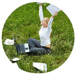 He hecho la formación programada en marketing online y ahora tengo trabajo